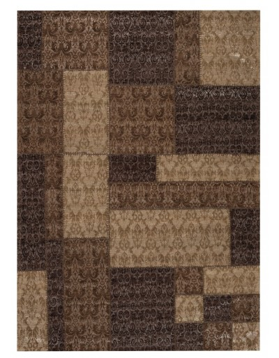 Patchwork Brown 8