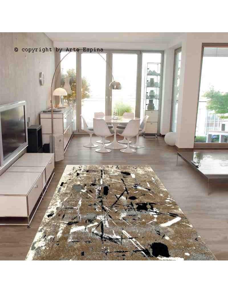 Tappeto moderno Slam Arte Espina beige 4457-18 rivenditore a Bergamo e Brescia