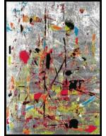 Tappeto moderno Slam Arte Espina multi 4457-75 rivenditore a Bergamo e Brescia