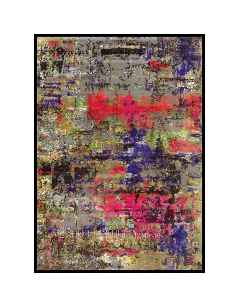 Tappeto moderno Action Art Arte Espina multi 5207-39 rivenditore a Bergamo e Brescia