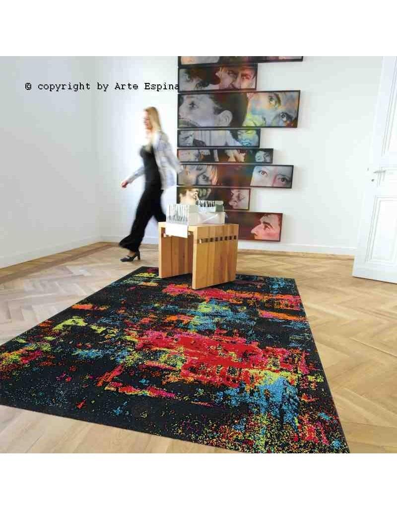 Tappeto moderno Artist Arte Espina black 4440-70 rivenditore a Bergamo e Brescia