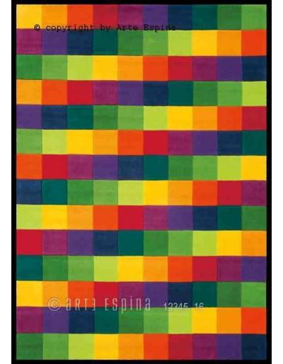 Tappeto moderno Colour Festival Arte Espina multi 4081-61 rivenditore a Bergamo e Brescia
