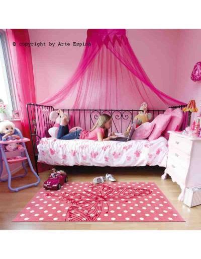 Tappeto moderno Kids Arte Espina pink 4182-44 rivenditore a Bergamo e Brescia