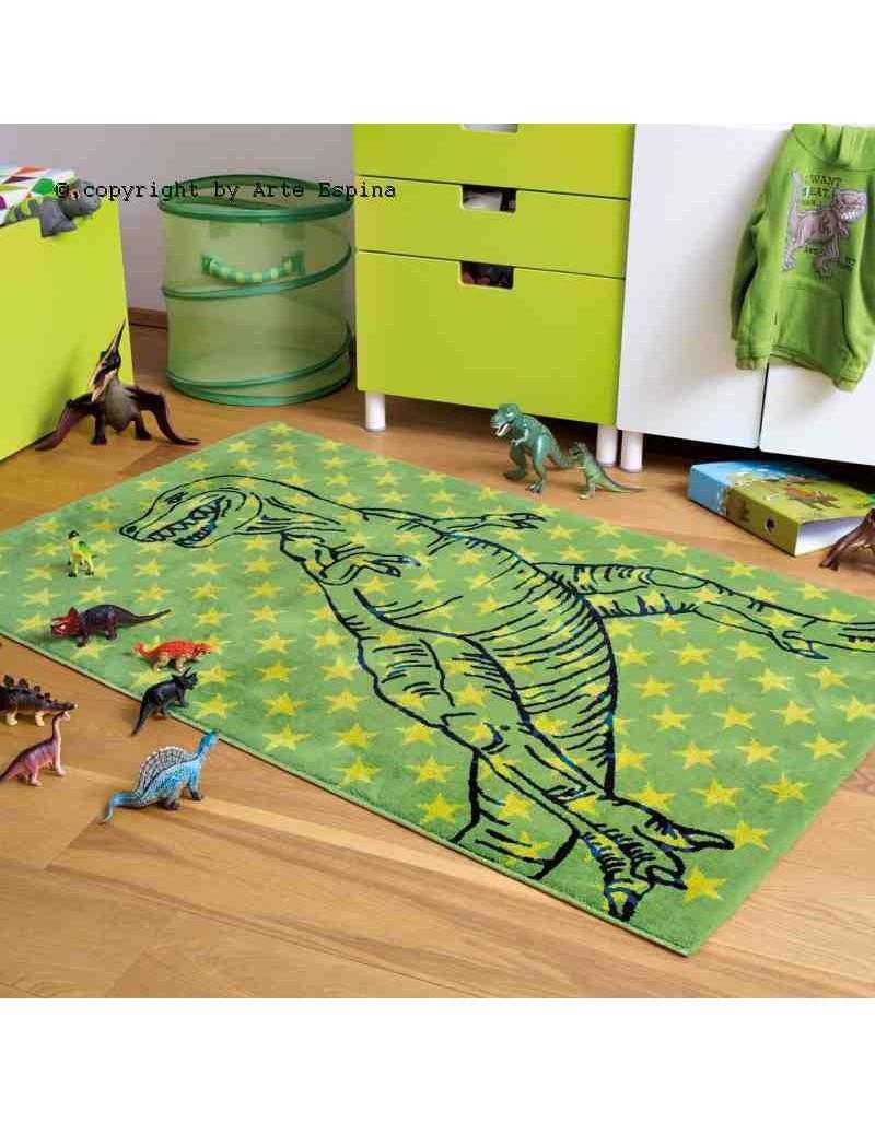 Tappeto moderno Kids Arte Espina green 4183-61 rivenditore a Bergamo e Brescia