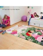 Tappeto moderno Kids Arte Espina multi 4180-44 rivenditore a Bergamo e Brescia
