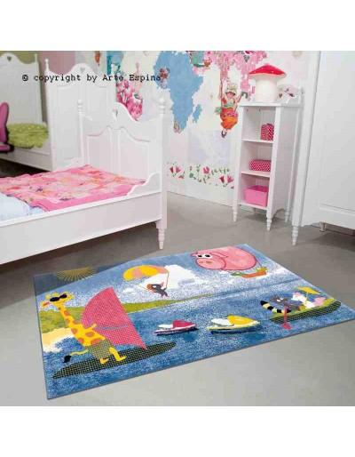 Tappeto moderno Kids Arte Espina multi 4181-75 rivenditore a Bergamo e Brescia