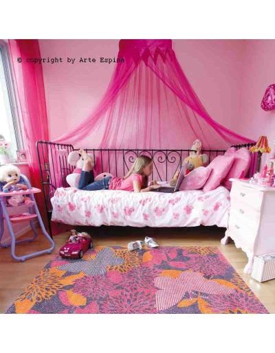Tappeto moderno Kids Arte Espina pink 4467-50 rivenditore a Bergamo e Brescia