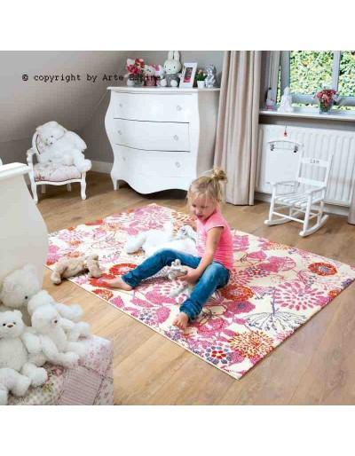Tappeto moderno Kids Arte Espina pink 4468-10 rivenditore a Bergamo e Brescia