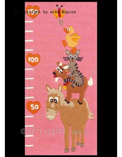 Tappeto moderno Kids Arte Espina pink 4168-44 rivenditore a Bergamo e Brescia