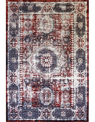 Tappeto moderno, toledo, rosso, cm140x200