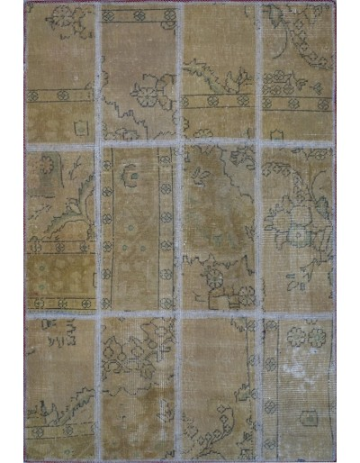 Tappeto moderno persiano pachtwork cm155x103