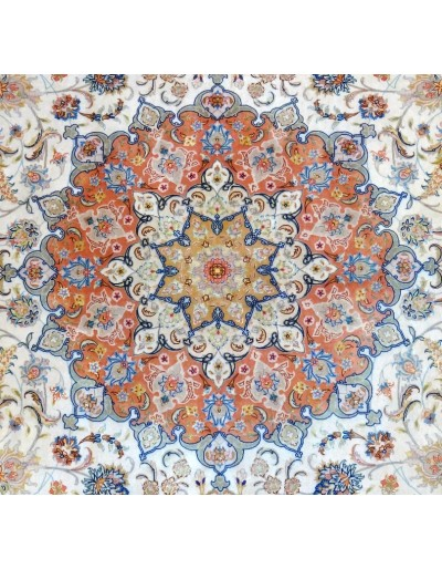 TABRIZ Persiano EXTRA FINE TRAMA SETA 400 x 300