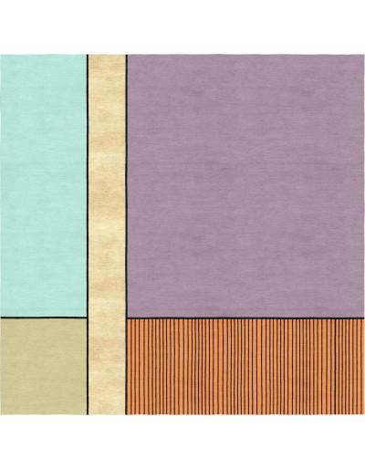 Tappeto custom made moderno Essential lines 3 b su misura
