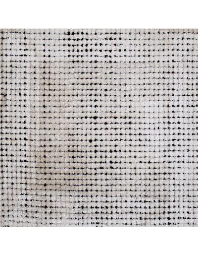 Tappeto moderno anallergico monocolore Check