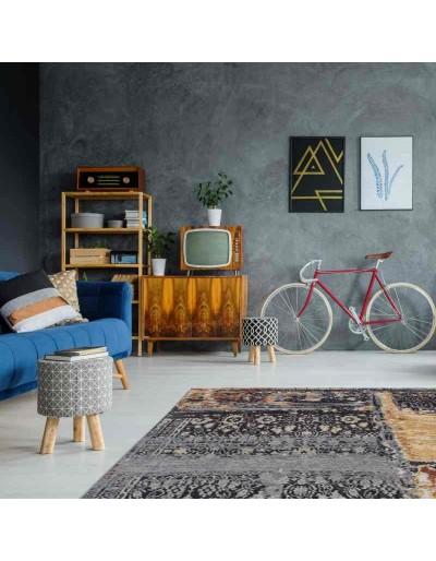 tappeto Arte Espina Blaze 500 multicolore blu