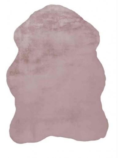 tappeto Arte Espina Rabbit Sheepskin 200 rosa