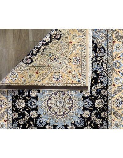 Tappeto Nain fine lana seta 220x143 cm