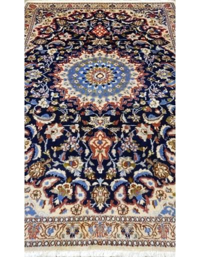 Tappeto Nain fine lana seta 197x113 cm