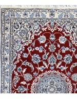 Tappeto Nain fine lana seta 150x98 cm