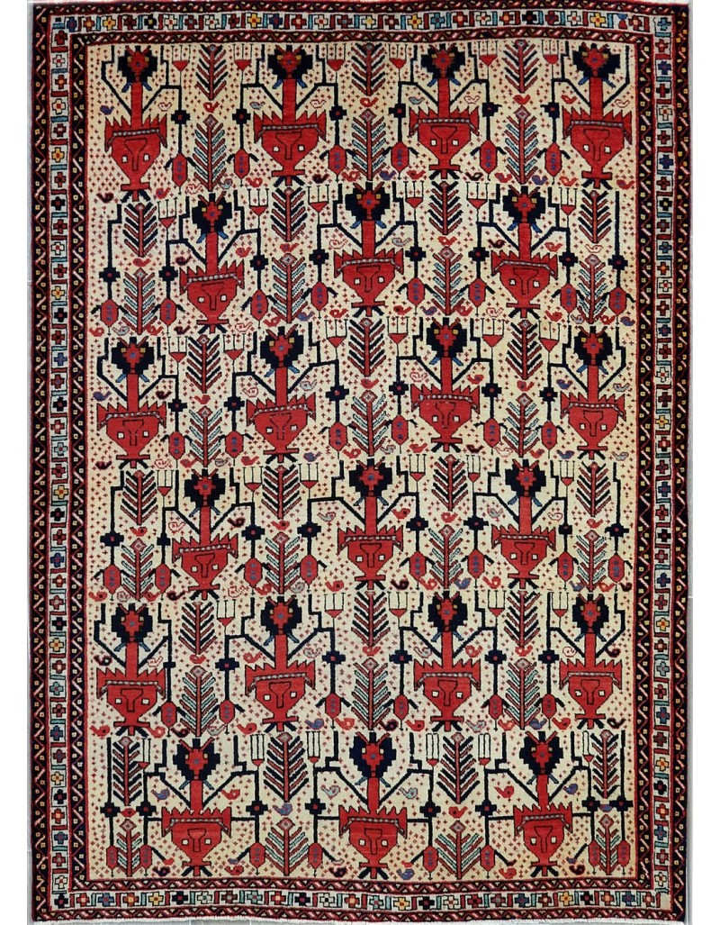 tappeto persiano geometrico moderno sirjan cm231x170